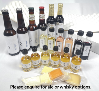 Cheese and Wine Masterclass Pack